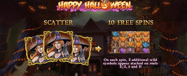 happy halloween casino heroes